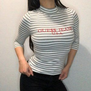 GUESS x ASAP ROCKY limited edition 3/4 sleeve top